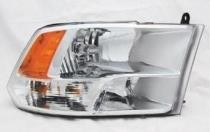 2011 - 2012 Dodge Ram Pickup (Full Size) Headlight (w/ quad lamps) - Right (Passenger)