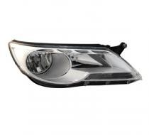 2009 - 2010 Volkswagen Tiguan Front Headlight Assembly Replacement Housing / Lens / Cover - Left (Driver)