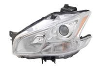 2009 - 2013 Nissan Maxima Headlight Assembly (Halogen) - Left (Driver)