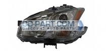 2009-2011 Nissan Maxima Headlight Assembly (Halogen) - Left (Driver)