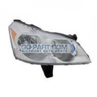 2009-2011 Chevrolet (Chevy) Traverse Headlight Assembly - Right (Passenger)