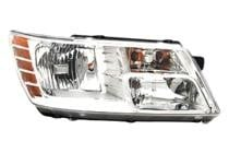 2009 - 2015 Dodge Journey Front Headlight Assembly Replacement Housing / Lens / Cover - Right (Passenger)