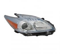 2010 - 2011 Toyota Prius Front Headlight Assembly Replacement Housing / Lens / Cover - Right (Passenger)