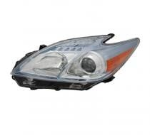 2010 - 2011 Toyota Prius Front Headlight Assembly Replacement Housing / Lens / Cover - Left (Driver)