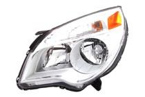 2010 - 2015 Chevrolet (Chevy) Equinox Headlight Assembly (LS / LT) - Left (Driver)