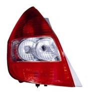 2007 - 2008 Honda Fit Tail Light Rear Lamp (TYC Brand) - Left (Driver)
