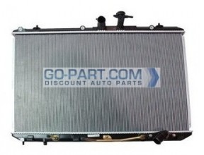 2009-2010 Toyota Highlander Radiator (Without Tow Package)