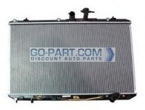 2009 - 2013 Toyota Highlander Radiator (Without Tow Package)