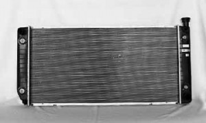 1994-1999 Chevrolet (Chevy) Suburban Radiator (5.7L V8 / 34-inch Core / 1 1/4-inch Thick)