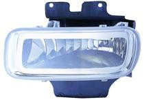 2004 - 2005 Ford F-Series Light Duty Pickup Fog Light (With Bracket & Bulb) - Left (Driver) Replacement