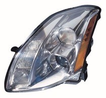 2004 Nissan Maxima Front Headlight Assembly Replacement Housing / Lens / Cover - Left (Driver)