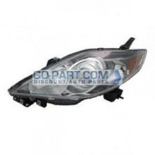 2006-2007 Mazda 5 Mazda5 Headlight Assembly - Left (Driver)