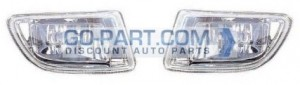 1999-2004 Honda Odyssey Fog Light Lamp (Pair, Driver & Passenger)
