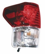 2010 - 2013 Toyota Tundra Pickup Tail Light Rear Lamp - Left (Driver)