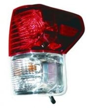 2010 - 2013 Toyota Tundra Pickup Rear Tail Light Assembly Replacement / Lens / Cover - Right (Passenger)