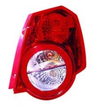 2009 - 2011 Chevrolet (Chevy) Aveo 5 Rear Tail Light Assembly Replacement / Lens / Cover - Right (Passenger)