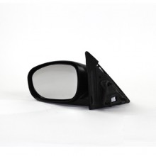 2006-2010 Dodge Charger Side View Mirror (Power / without Heat / Non-Folding / Black) - Left (Driver)