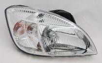 2009 - 2011 Kia Rio5 Front Headlight Assembly Replacement Housing / Lens / Cover - Right (Passenger)