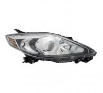 2008 - 2009 Mazda 5 Mazda5 Front Headlight Assembly Replacement Housing / Lens / Cover - Right (Passenger)