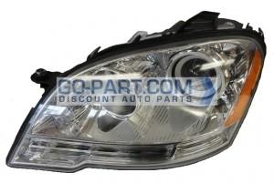 2008-2011 Mercedes Benz ML350 Headlight Assembly - Left (Driver)