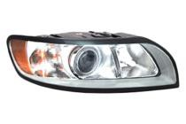 2008 - 2011 Volvo S40 Front Headlight Assembly Replacement Housing / Lens / Cover - Right (Passenger)