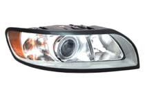2008 - 2011 Volvo V40 Front Headlight Assembly Replacement Housing / Lens / Cover - Right (Passenger)