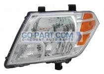 2009-2011 Nissan Frontier Pickup Headlight Assembly - Left (Driver)
