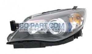 2008-2011 Subaru Impreza Headlight Assembly - Left (Driver)