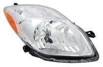 2009 - 2011 Toyota Yaris Front Headlight Assembly Replacement Housing / Lens / Cover - Right (Passenger)