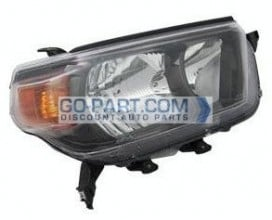 2010-2011 Toyota 4Runner Headlight Assembly (Trail) - Right (Passenger)