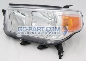 2010-2011 Toyota 4Runner Headlight Assembly (Limited / SR5) - Left (Driver)