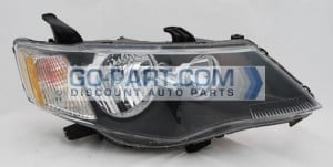 2007-2009 Mitsubishi Outlander Headlight Assembly - Right (Passenger)