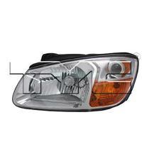 2007 - 2009 Kia Spectra Headlight Assembly - Left (Driver)