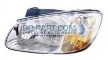 2007-2009 Kia Spectra Headlight Assembly - Left (Driver)