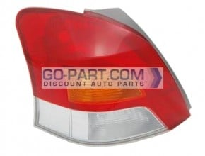 2009-2011 Toyota Yaris Tail Light Rear Lamp - Left (Driver)