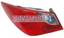 2011-2011 Hyundai Sonata Tail Light Rear Lamp - Left (Driver)