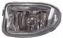 1996 - 2000 Hyundai Elantra Fog Light Assembly Replacement Housing / Lens / Cover - Left (Driver)