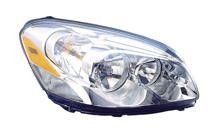 2009 - 2011 Buick Lucerne Front Headlight Assembly Replacement Housing / Lens / Cover - Right (Passenger)