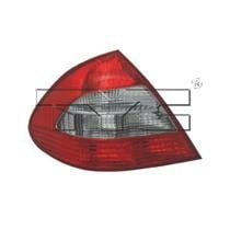 2007 - 2009 Mercedes Benz E550 Rear Tail Light Assembly Replacement / Lens / Cover - Left (Driver)