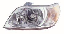 2010 - 2011 Chevrolet (Chevy) Aveo 5 Headlight Assembly - Left (Driver)