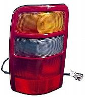 2002-2003 GMC Yukon (Full Size) Tail Light Rear Lamp - Right (Passenger)