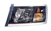 2008 - 2011 Dodge Dakota Pickup Front Headlight Assembly Replacement Housing / Lens / Cover - Left (Driver)