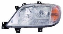 2003 - 2006 Dodge Sprinter Van Headlight Assembly (For Models without Fog Lamps)- Left (Driver)