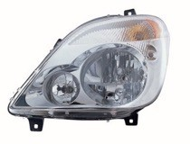 2007 - 2009 Dodge Sprinter Van Headlight Assembly - Left (Driver)