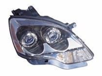 2007 - 2008 GMC Acadia Front Headlight Assembly Replacement Housing / Lens / Cover - Right (Passenger)