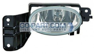 2010-2010 Honda Accord Crosstour Fog Light Lamp - Left (Driver)
