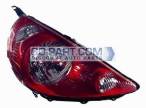 2007-2008 Honda Fit Headlight Assembly (Milano Red) - Right (Passenger)