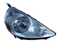 2007 - 2008 Honda Fit Headlight Assembly (Tafetta White) - Right (Passenger)