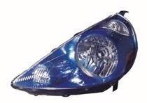2007 - 2008 Honda Fit Headlight Assembly (Vivid Blue) - Left (Driver)