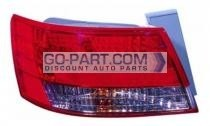 2008-2008 Hyundai Sonata Tail Light Rear Lamp - Left (Driver)